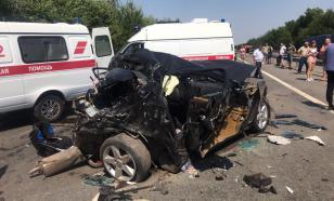 На Сахалине жертвами ДТП стали трое человек