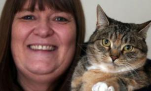 Кошка спасла жизнь своей хозяйке