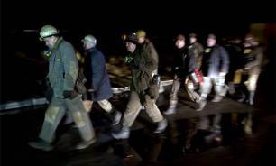Львовские шахтеры перекрыли международную трассу, требуя выплаты долгов по зарплате