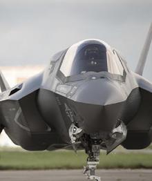 Снята бомбардировка F-35 в «режиме зверя»