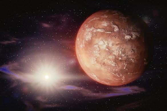 На Марсе обнаружили соленое озеро