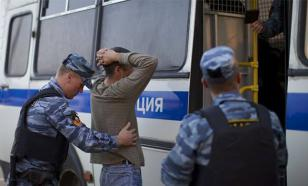 Под Петербургом подрались мигранты-строители. ВИДЕО