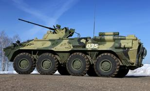В Санкт-Петербурге под колёсами БТР погиб мужчина