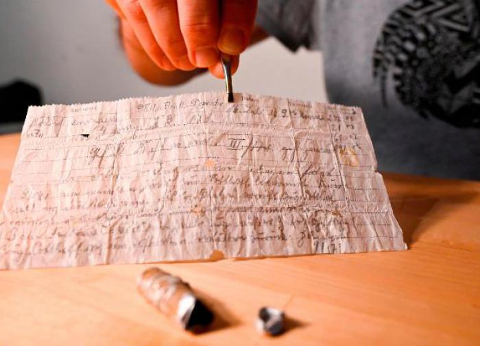 Зубной рентген помог прочесть запечатанное письмо 1697 года