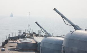 Корабли Балтийского флота провели артиллерийские стрельбы