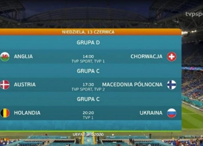 Польское телевидение анонсировало сборную Украины с флагом России