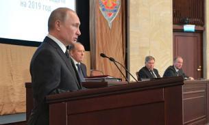 Путин сообщил о разоблачении почти 600 сотрудников иностранных спецслужб в 2018 году