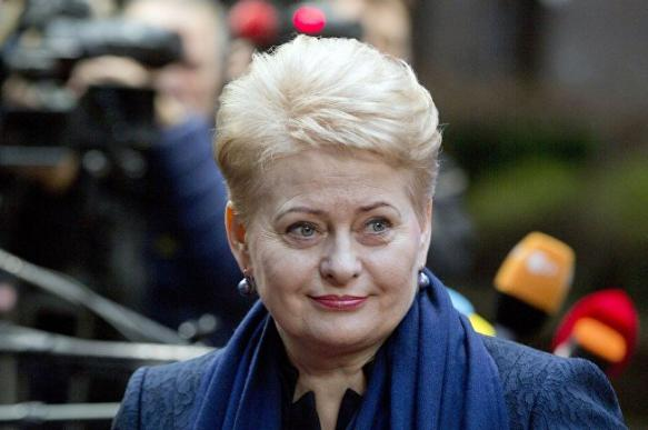 """Грибаускайте: Литва должна стать """"переносчиком"""" западных ценностей"""