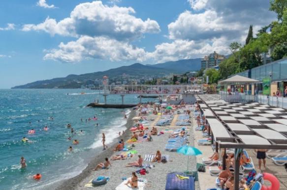 В Крыму с начала 2019 года отдохнуло 6,87 млн человек
