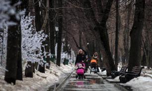 """В Москве начинается """"европейская зима"""""""