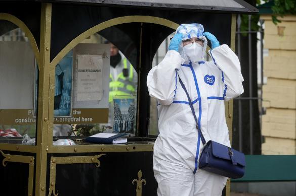 Чуть меньше 10 тысяч человек больны коронавирусом на Украине