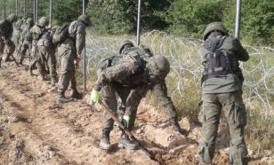 Пусть умирают: Варшава начала строить стену на границе с Белоруссией