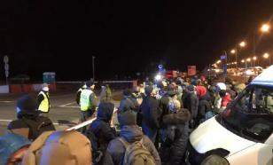 Потерявшие работу украинские гастарбайтеры штурмуют границу