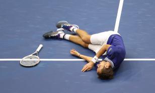 Медведев выиграл US Open и упал от радости