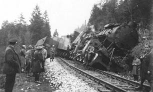 Как в военное время разрушали железнодорожные пути