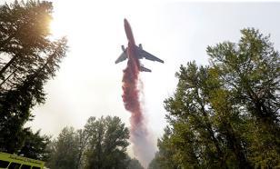 """В Иркутской области пилоты ВВС """"снайперским сбросом"""" потушили гигантский лесной пожар"""