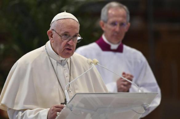 Папа Римский в Пасхальном послании призвал ЕС проявить солидарность