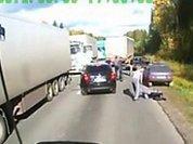"""Полиция нашла """"дорожных рэкетиров"""" с видео"""