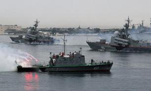Российские корабли прибыли на учения в Китай