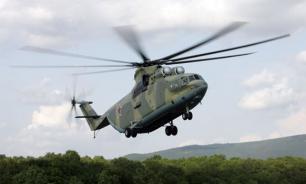 В Хабаровском крае потерпел крушение вертолет  Ми-8, в котором находилось 16 человек