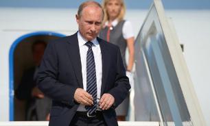 Путин прибыл на встречу с лидером Палестины в Вифлеем