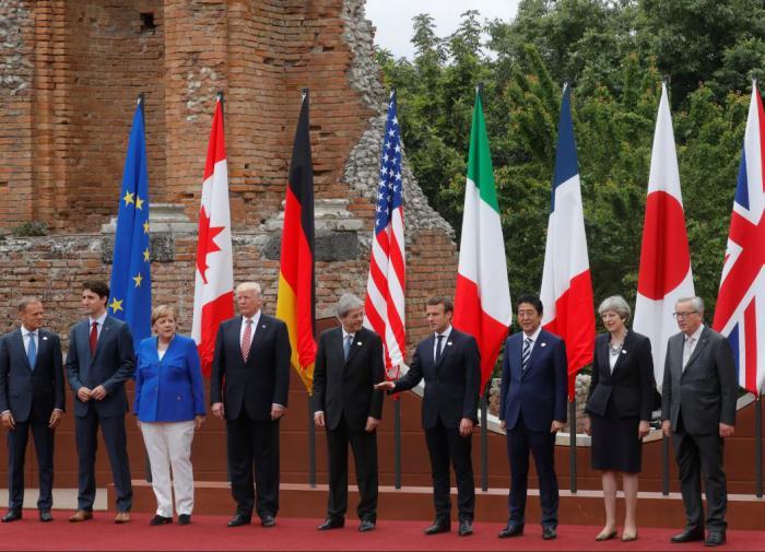 Лидеры G7 подготовили совместное заявление по России