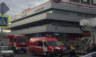 В Москве из горящей гостиницы эвакуировали 660 человек