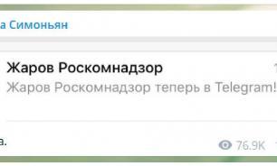 """""""Ты пытался"""": глава Роскомнадзора зарегистрировался в Telegram"""