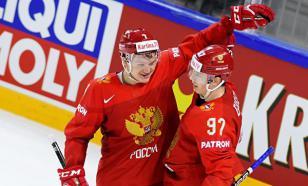 Капризов забросил третью шайбу сборной России в матче с США