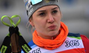 Биатлонистка Васильева смирилась с дисквалификацией до марта 2021 года