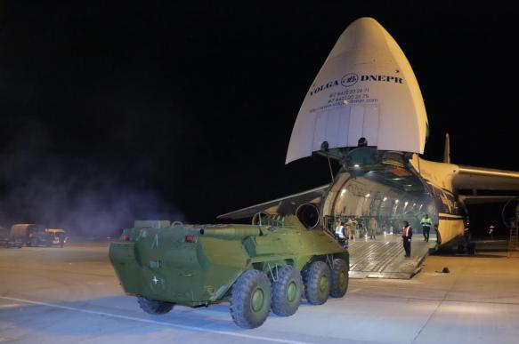 Киргизия получила в подарок от России военную технику на 385 млн рублей