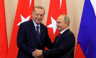 """Путин и Эрдоган прибыли в Жуковский на авиасалон """"МАКС-2019"""""""