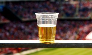 Минфин одобрил законопроект о продаже пива на стадионах