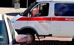 Силовики перемещаются по Минску на машинах скорой помощи