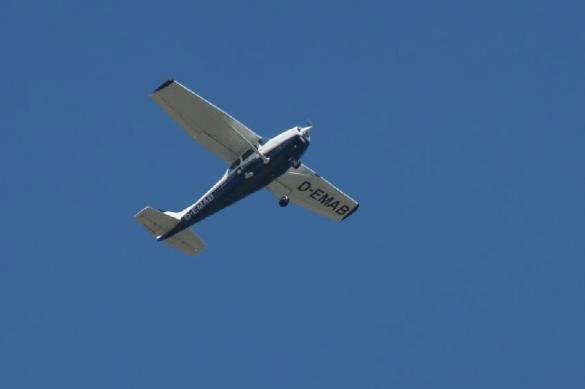 В Татарстане учебный самолет выкатился за пределы взлетной полосы