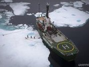 """Во льдах Арктики """"нарисовался"""" шедевр да Винчи"""