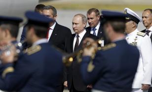 В день приезда Владимира Путина на улицах Афин за порядком следят 2.5 тысяч полицейских