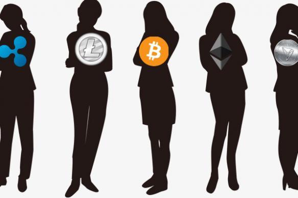 Феминизм коснулся криптовалют