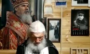 Схимонах Сергий готовится отдать монастырь Украине