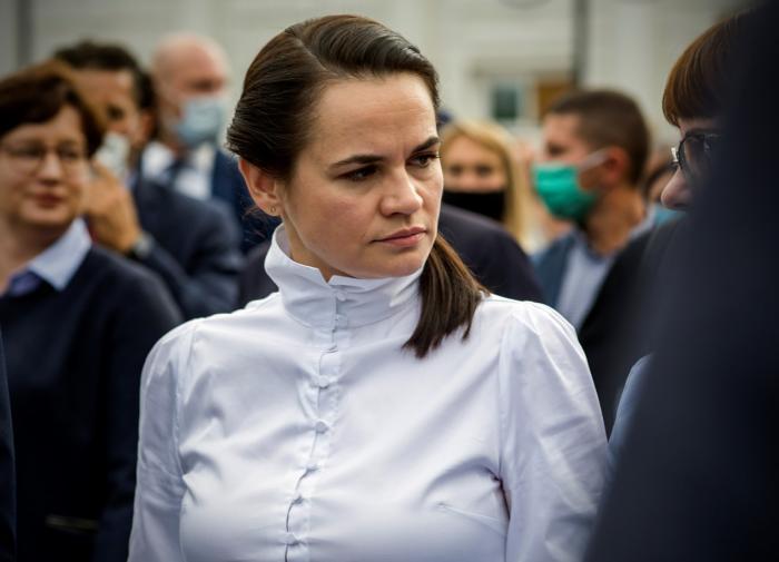 Тихановская хочет встретиться с Путиным