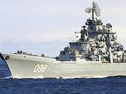 """Медведев вышел на крейсере """"Петр Великий"""" в Охотское море"""