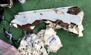 Выдвинута новая версия крушения лайнера EgyptAir