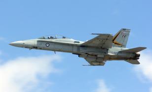 В США произошло крушение истребителя F-16
