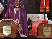 Лех и Мария Качиньские погребены в краковском замке Вавель