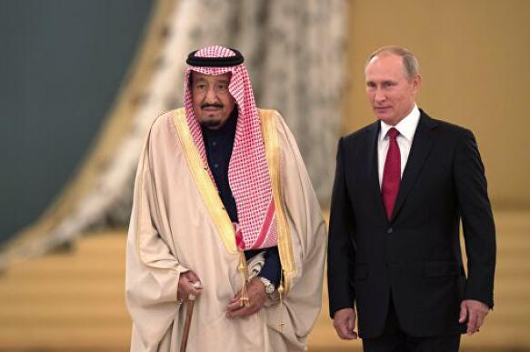 Путин посетил Саудовскую Аравию впервые с 2007 года