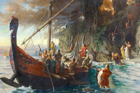 Норвежская семья обнаружила захоронение викингов под своим домом