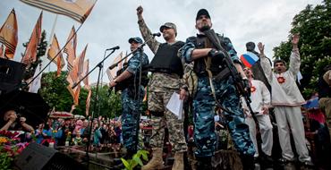 Денис Пушилин: Ополченцы – безоружная армия Донбасса