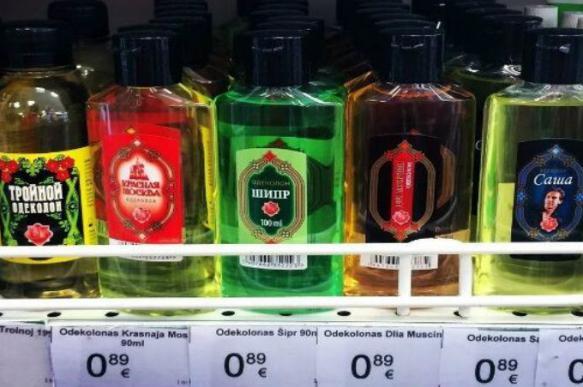 Латвия может повысить цену на дешевый одеколон для борьбы с пьянством