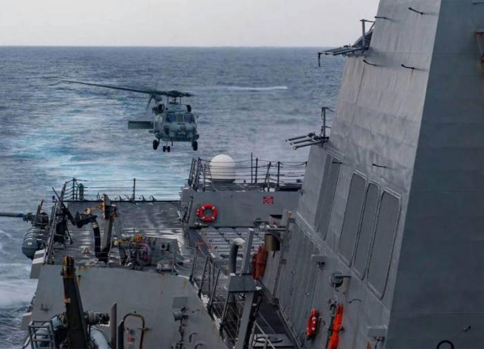 Инцидент у островов Сиша: Китай прогнал эсминец США