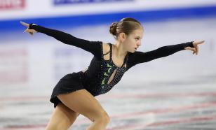 Трусова сделала тройной аксель на тренировке перед финалом Гран-при